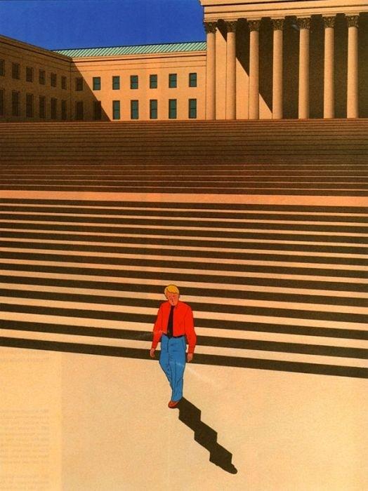 Сюрреалистичные рисунки Ги Биллю