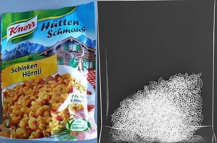 Продажа воздуха в пакетах с продуктами питания