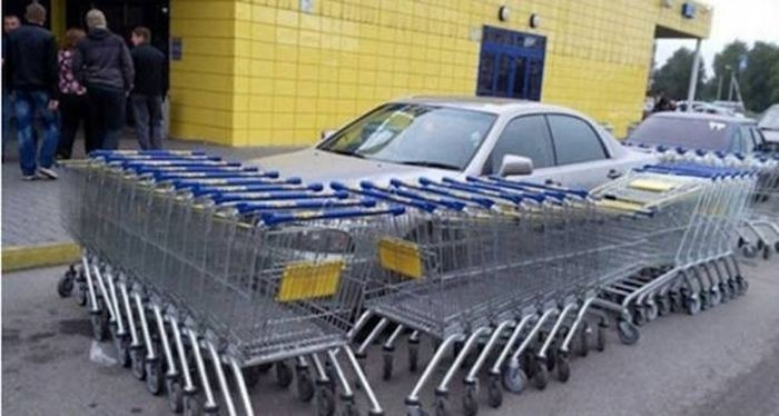 Автоместь за неправильную парковку
