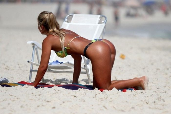 Девушки с бразильских пляжей