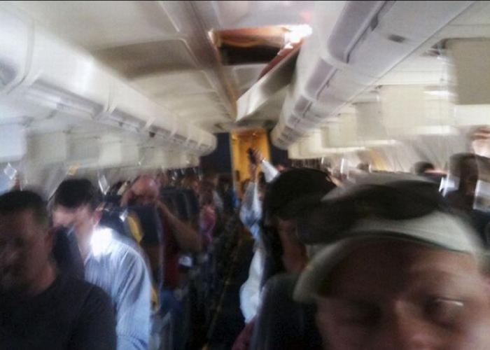Так выглядит разгерметизация самолета