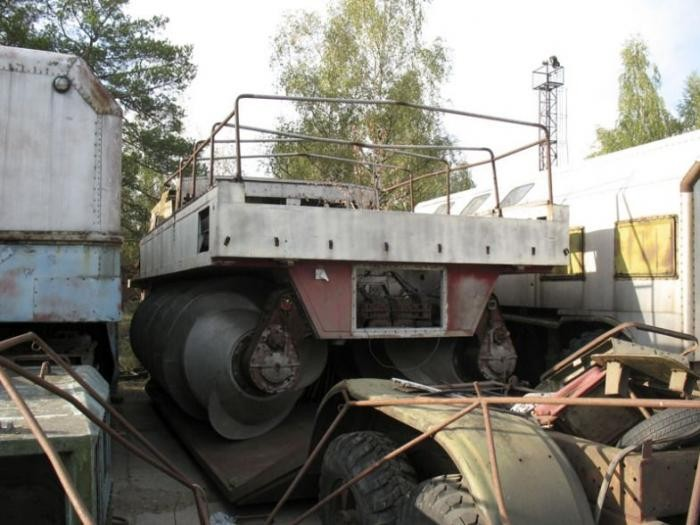 Советские экспериментальные вездеходы (16 фото)