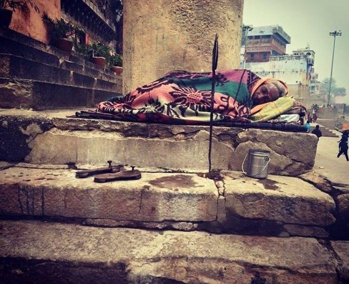 Варанаси город-крематорий в Индии