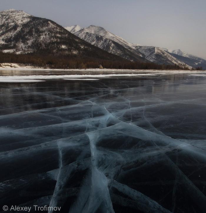Лед Байкала (13 фото)