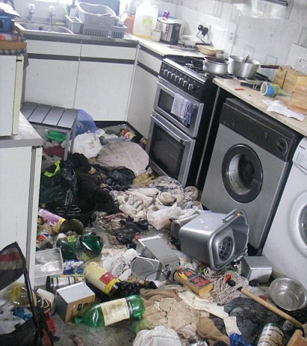 Самые грязные квартиры в мире (32 фото)
