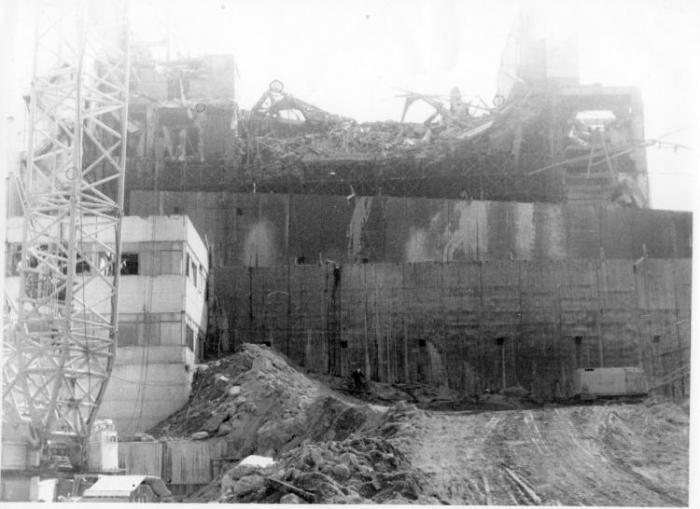 Чернобыльская АЭС - рассказ очевидца