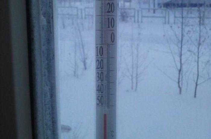 Аномально низкая температура воздуха в ХМАО