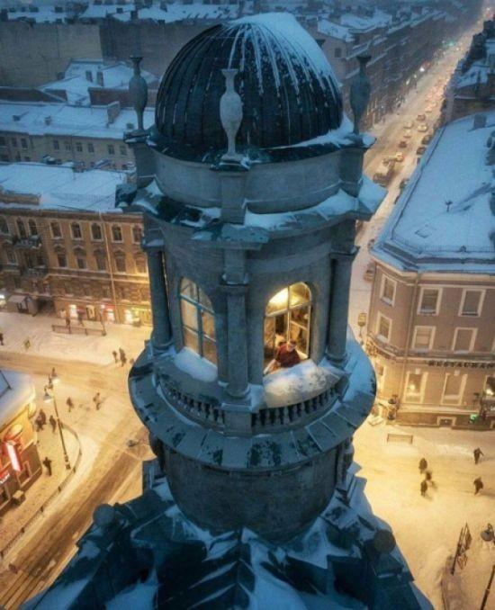 Пожалуй, самое уютное место в Санкт-Петербурге (6 фото)