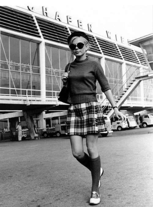 Женская мода в Великобритании 60-х годов
