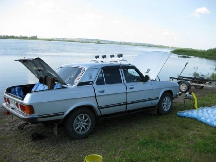Колхозный тюнинг «Волги» ГАЗ 3102