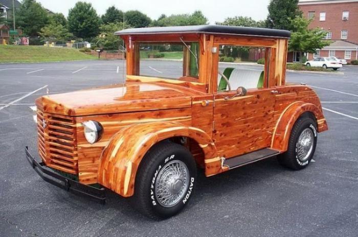 Сборщик мебели собрал и автомобиль! (22 фото)
