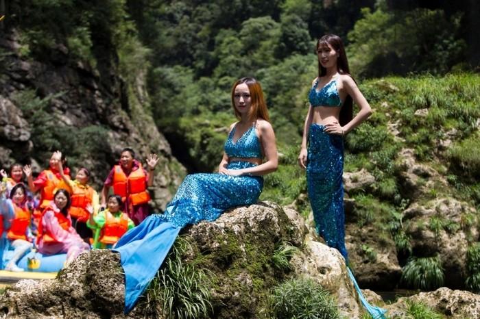 Школа русалок на Филиппинах