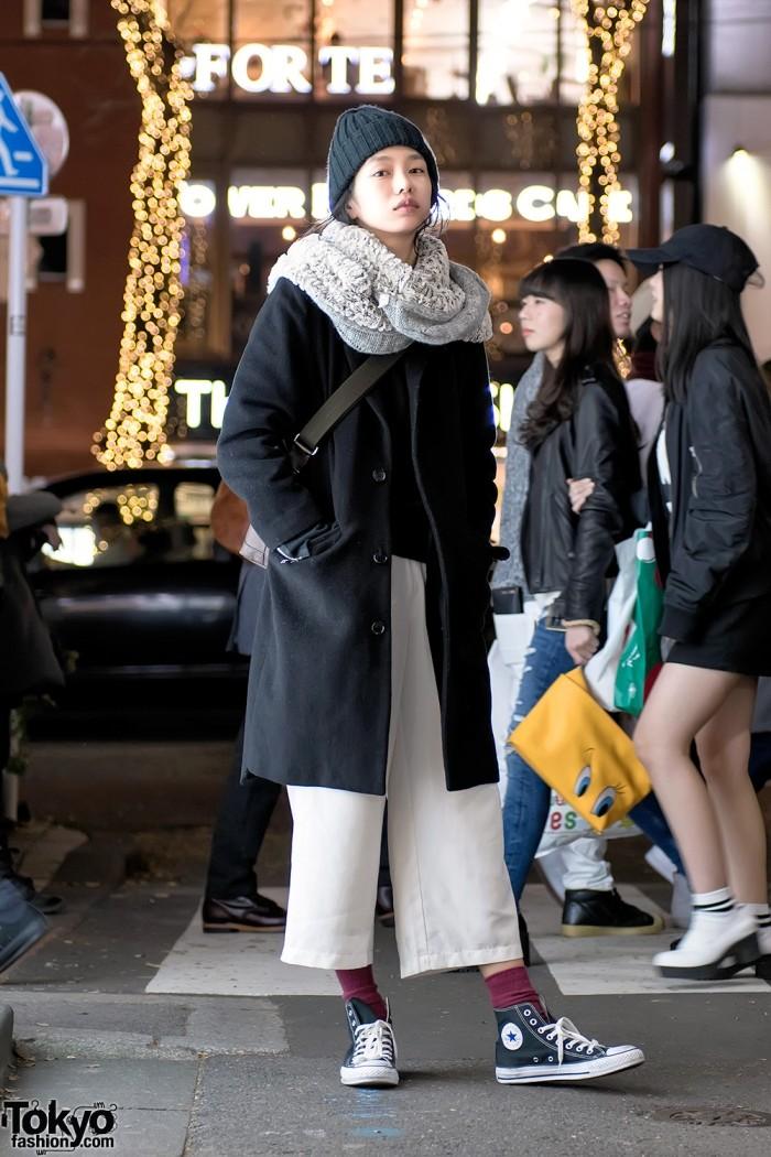 Модные персонажи на улицах Токио