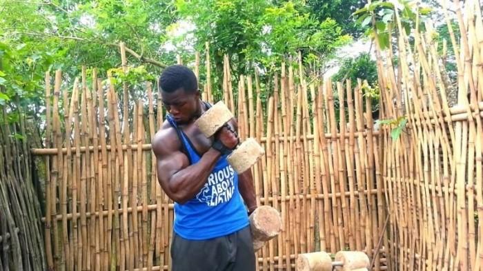 Уличные африканские качалки