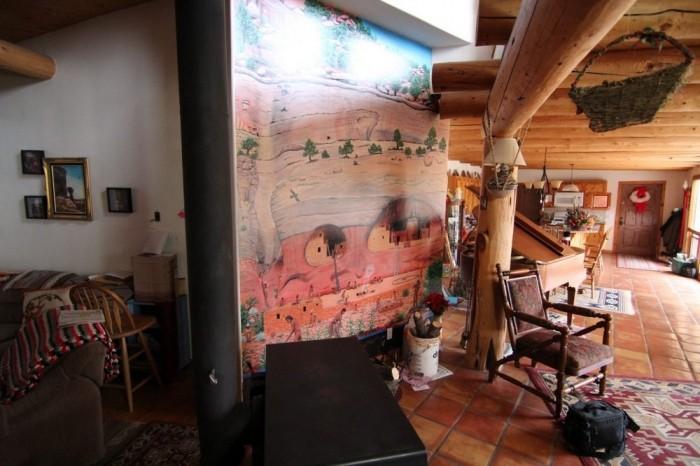 Дом в скале в штате Юта