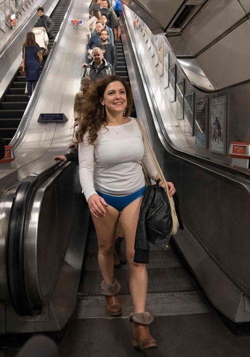 «В метро без штанов-2017»