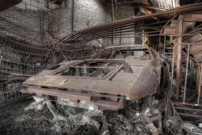 Заброшенные авто на снимках фотографа Провоста Кеннета