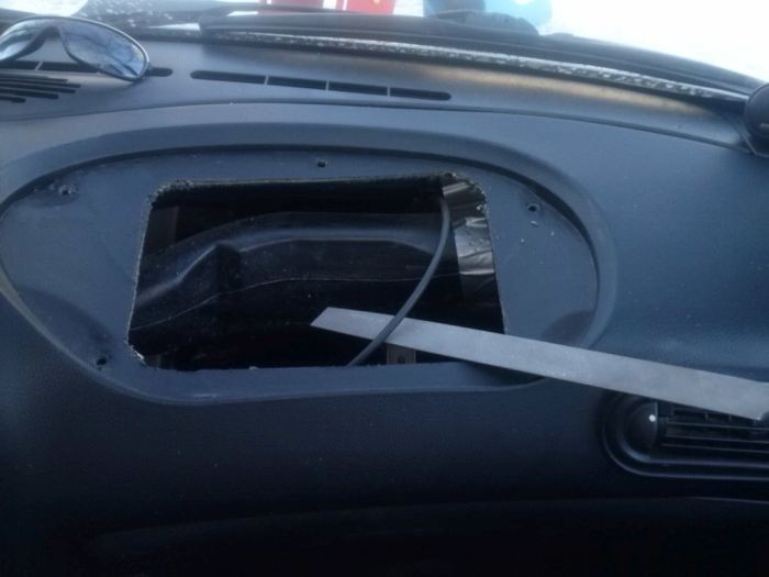 Бардачок для Chevrolet Niva своими руками