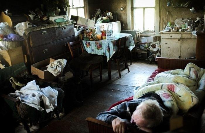 Жизнь в полузаброшенных деревнях Московской области