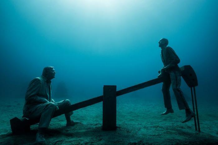 Первый в Европе подводный музей Atlantico (23 фото)