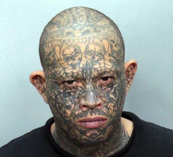 Странные лица американских преступников