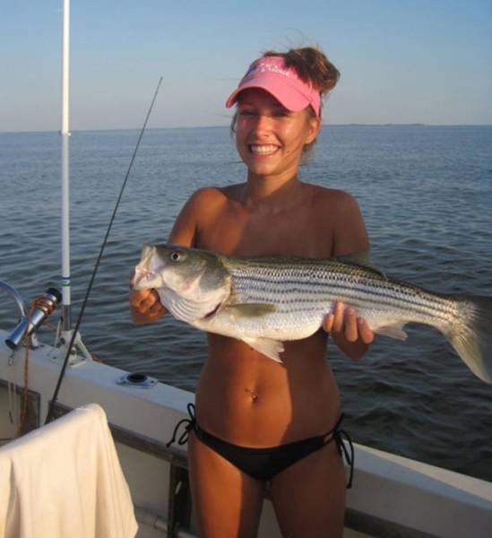 Девушки любящие рыбалку