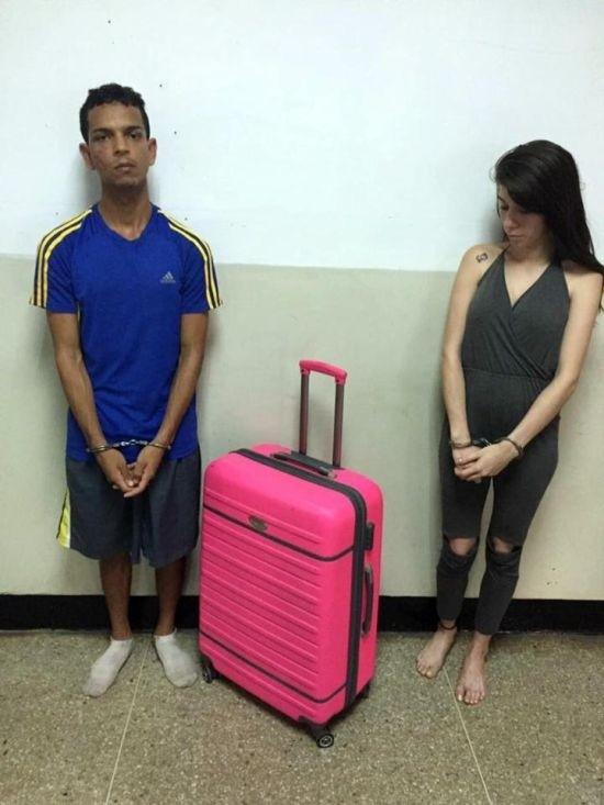 В Венесуэле девушка пыталась вынести возлюбленного из тюрьмы в чемодане