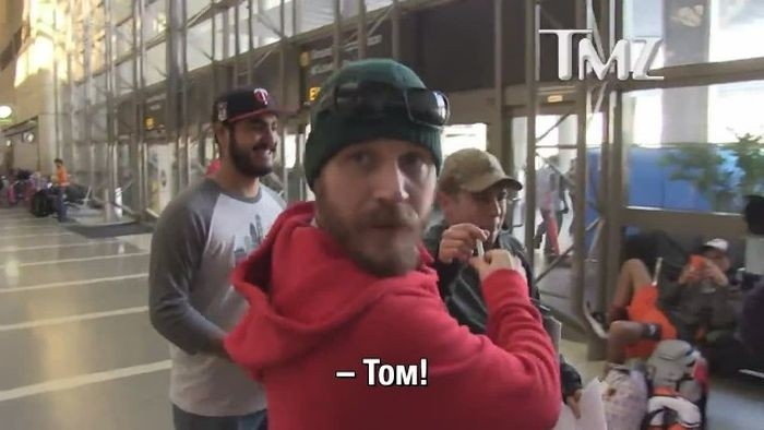 Как выглядит роспись актера Тома Харди