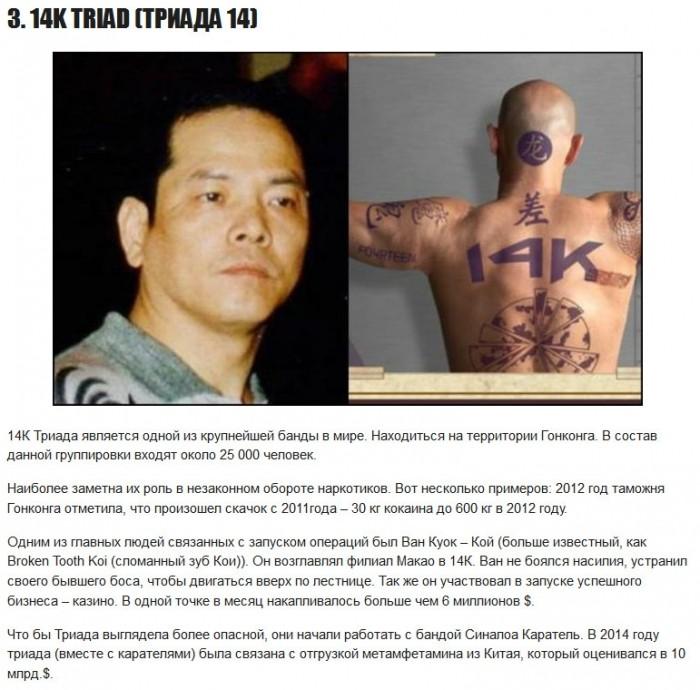 16 самых могучих преступных организаций всех времен