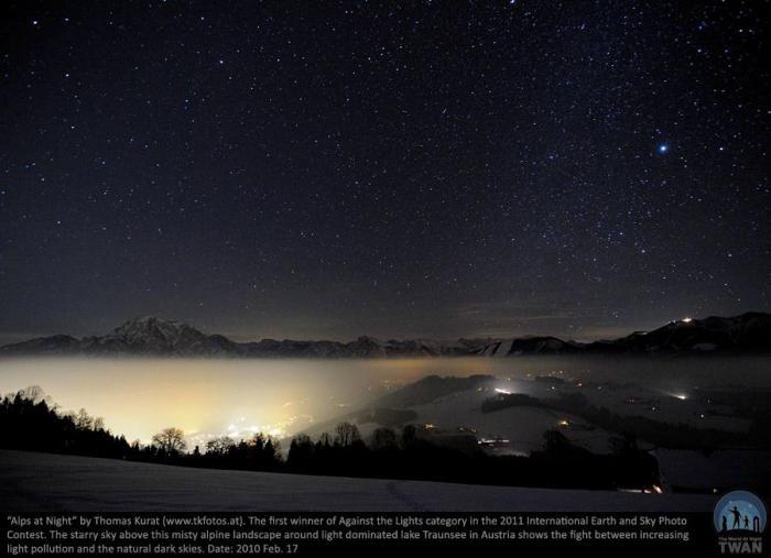 Самое красивое ночное небо (10 фото)