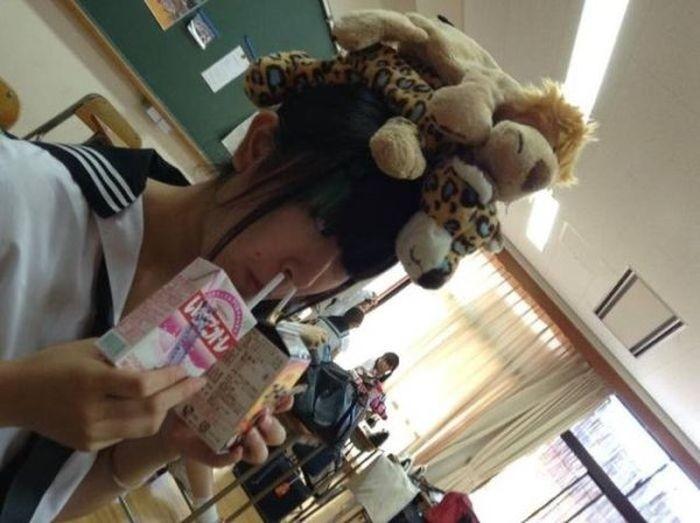 Безумные фото из Японии