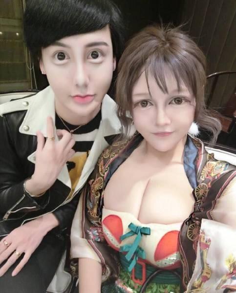 Два китайских «красавчика» и одна «красотка»