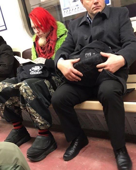 Модники из российского метро