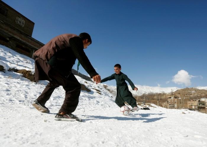 Снимки повседневной жизни в Афганистане