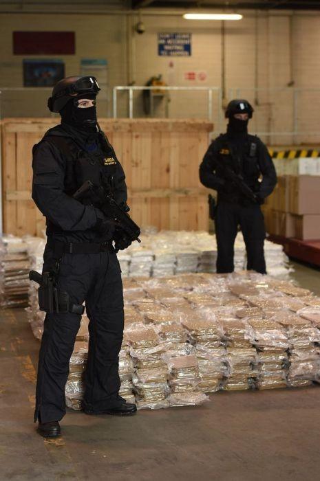 В Ирландии задержано судно с марихуаной на 40 миллионов долларов (6 фото)