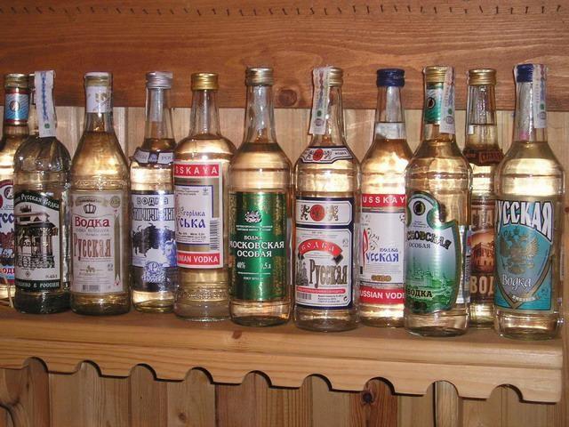 Как русские используют водку не по назначению