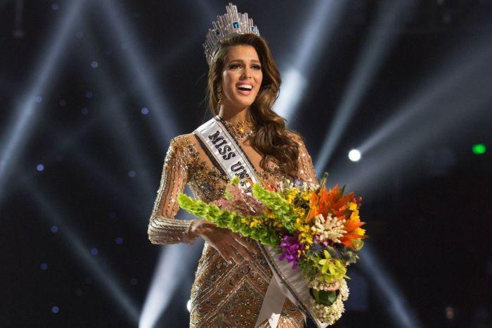 Победитель на конкурсе красоты «Мисс Вселенная-2017»
