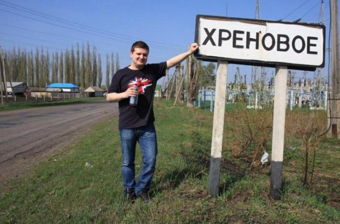 Географические названия в России (18 фото)