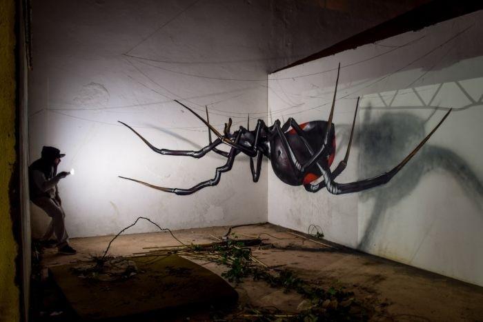 3D-рисунки от уличных художников