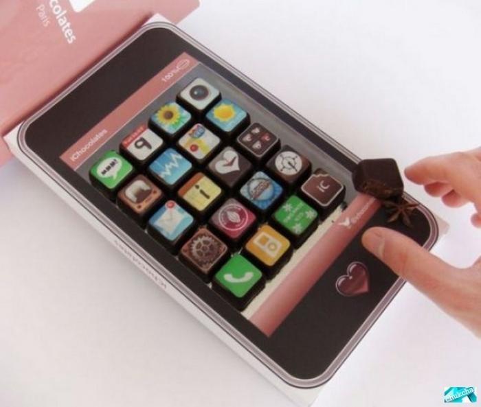 Айфон-шоколадка (4 фото)