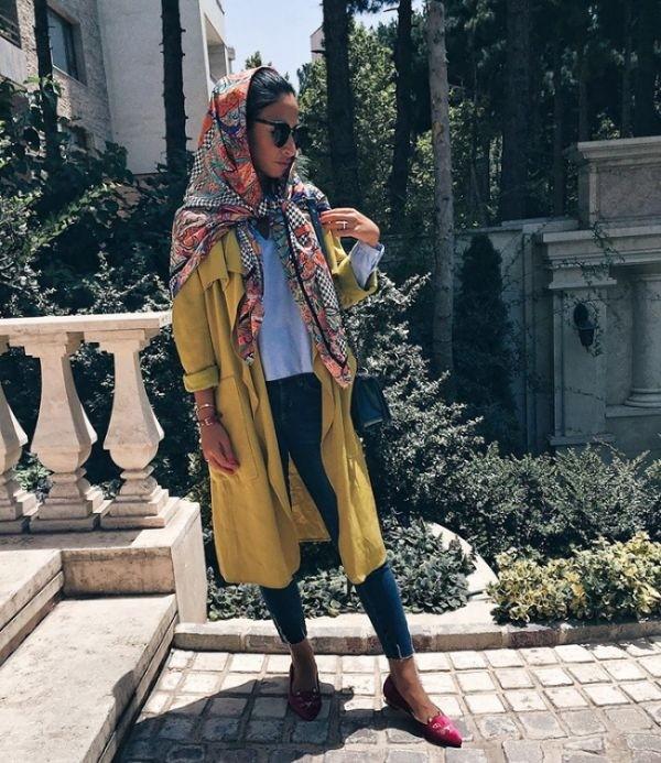 Иранские модницы в хиджабах