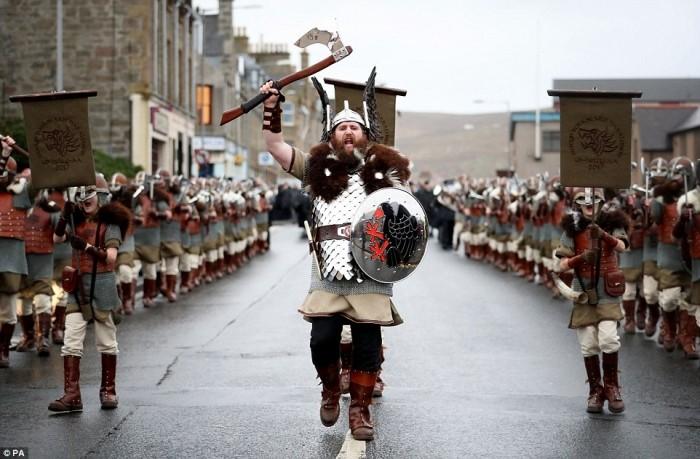 Викинги высадились в Шотландии
