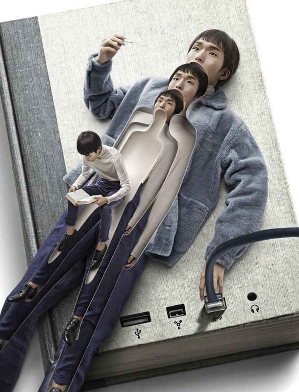 Потрясающие фотоманипуляции китайского дизайнера (21 фото)
