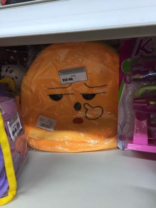 Странные товары на прилавках детских магазинов