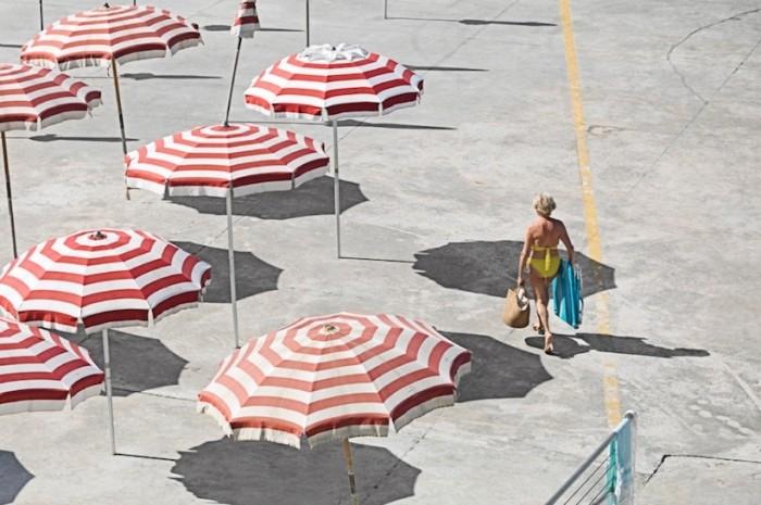 Итальянцы на частных пляжах
