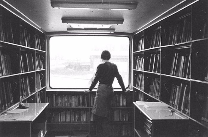Мобильные библиотеки прошлых лет