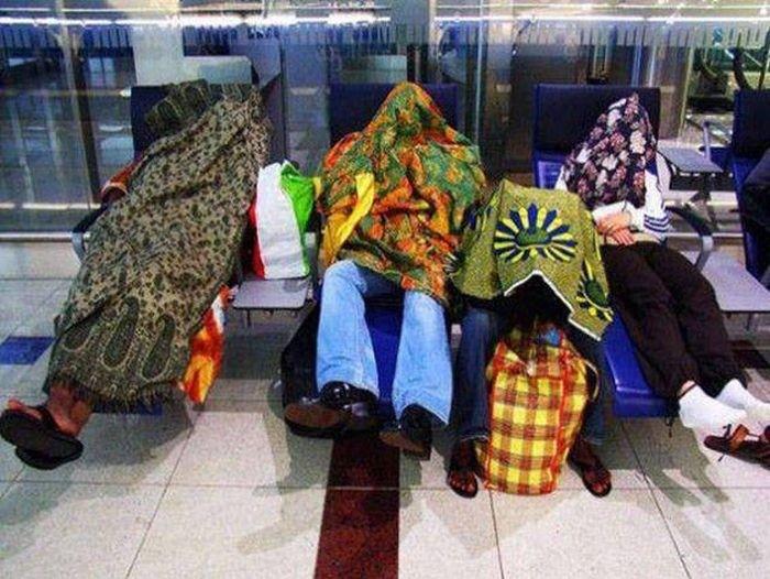Забавные фото из аэропортов