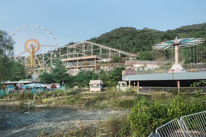 Заброшенный парк развлечений в Южной Корее