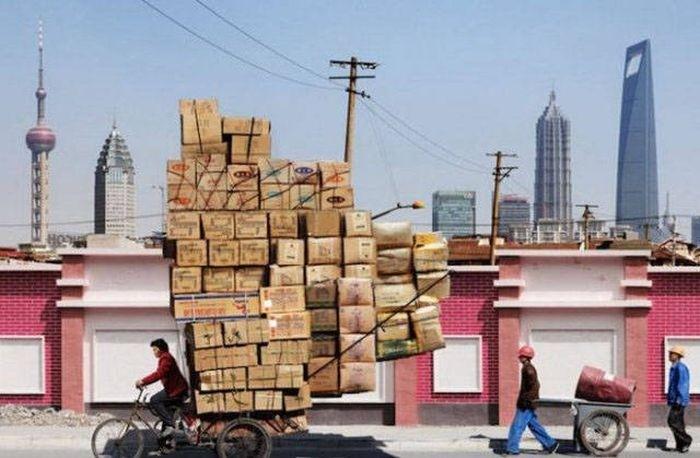 Странные фото из Китая