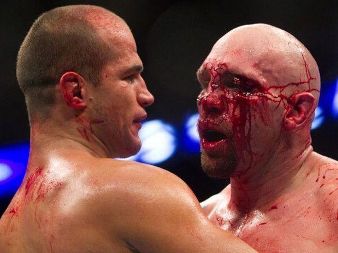 До и после ринга (6 фото)